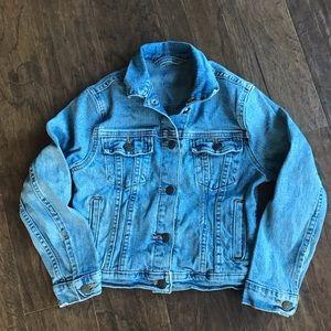Girls Levi's cropped Jean Jacket size 7/8